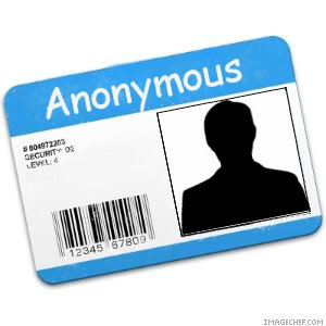Anonymous Identity Online
