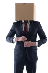Anonymous Guy With Box Head